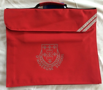 Picture of Book Bags - d'Auvergne (Red)