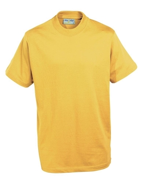 Picture of T-Shirts - Gold