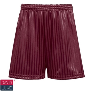 Picture of Shadow Stripe Shorts - Maroon