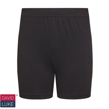 Picture of Girls Gym Shorts - Black