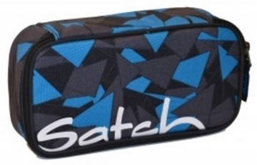 Picture of Satch Pencil Cases - Petrol Triangle