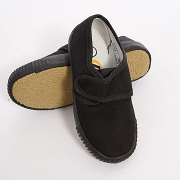 Picture of Plimsolls - Black Velcro