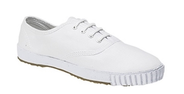 Picture of Plimsolls - White Lace