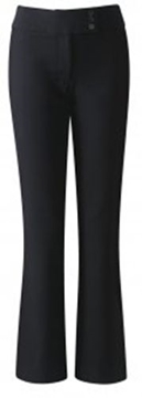 Picture of Girls Trousers - Senior Blue Max (Button Waist)