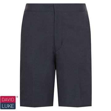 Picture of Shorts - Navy Bermuda David Luke