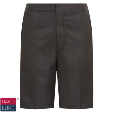 Picture of Shorts - Black Bermuda David Luke