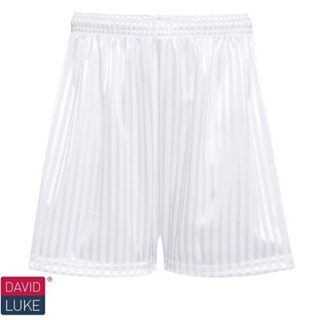 Picture of Shadow Stripe Shorts - White