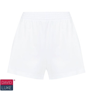 Picture of Girls Gym Shorts - White