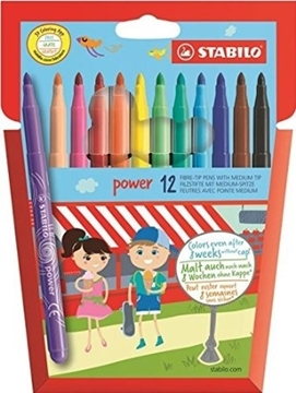 Picture of Stabilo Pens - Power Felt-Tips