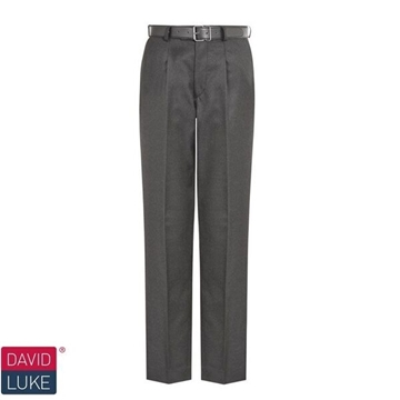 Picture of Boys Trousers - Senior David Luke (Single Plt. Reg.)