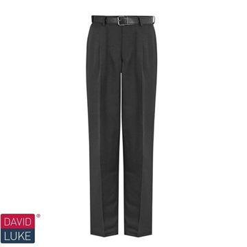 Picture of Boys Trousers - Senior David Luke (Single Pleat)