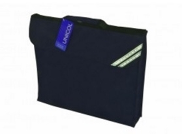 ed2a71c0bedf Picture of Book Bags - Navy. Plain Book Bag