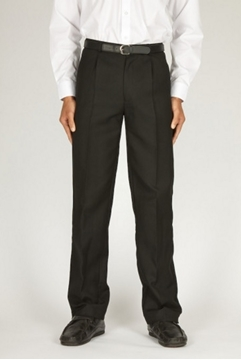 Picture of Boys Trousers - Senior Trutex (Single Pleat Jet Pock.)