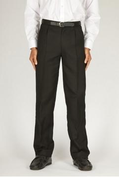 Picture of Boys Trousers - Senior Trutex (Single Pleat Jet Pock.)