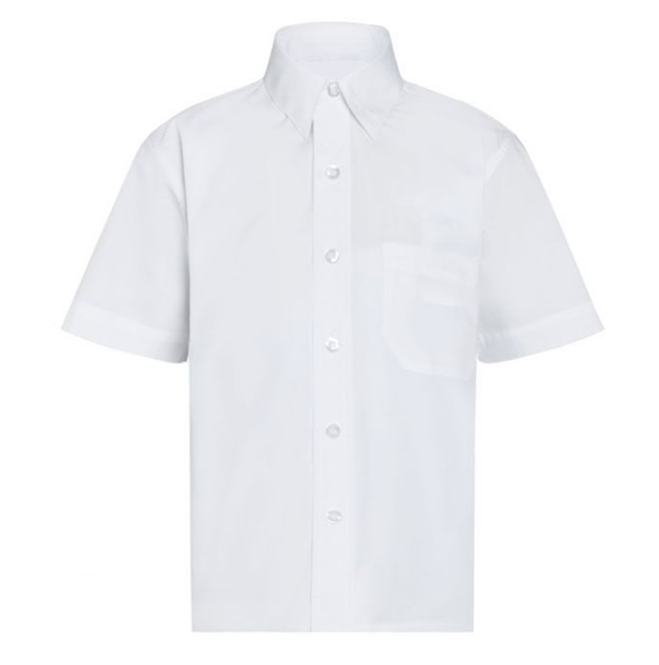 Picture of Shirts Short Sleeve - White - 2 pack
