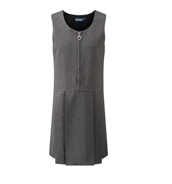 Picture of Blue Max Pinafore - Grey