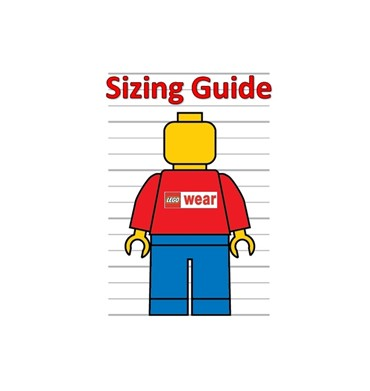 Picture for category LEGO Wear Sizing Guide