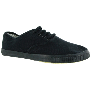 Picture of Plimsolls - Black Lace