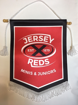 Picture of Jersey Reds Minis and Juniors Pennant
