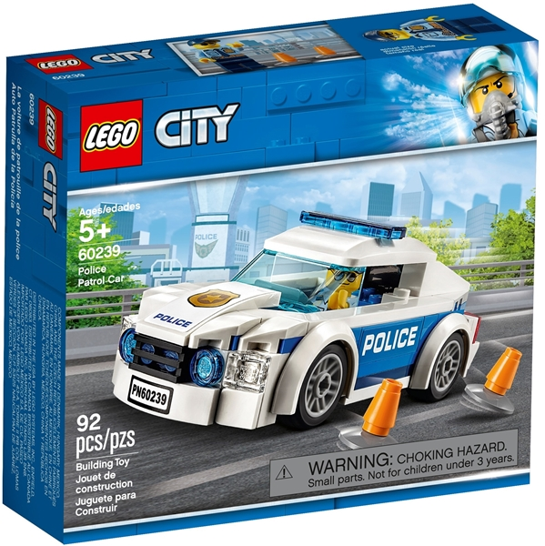 Picture of 60239 Police Patrol Car