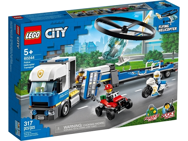 Picture of 60244 Police Helicopter Transport