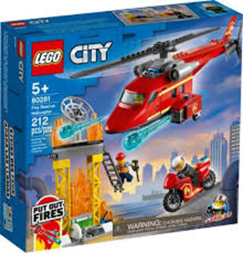 Picture of 60281 Fire Rescue Helicopter
